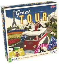 Review The Great Tour versus Ticket To Ride Europe